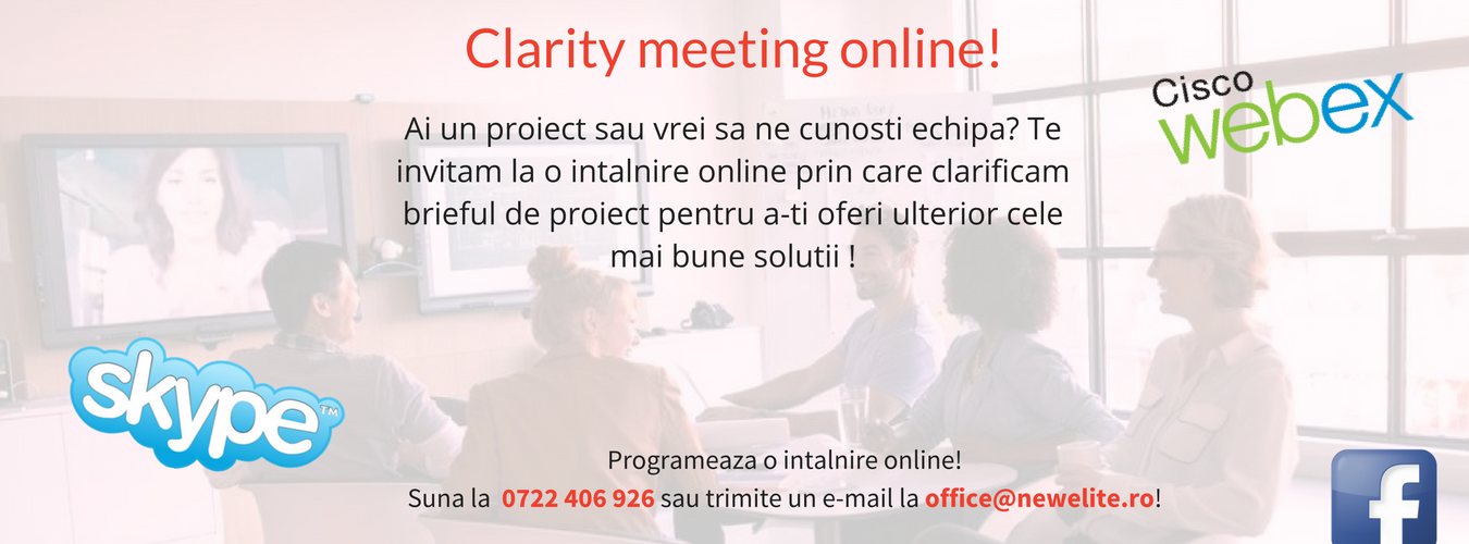 Clarity meeting online!