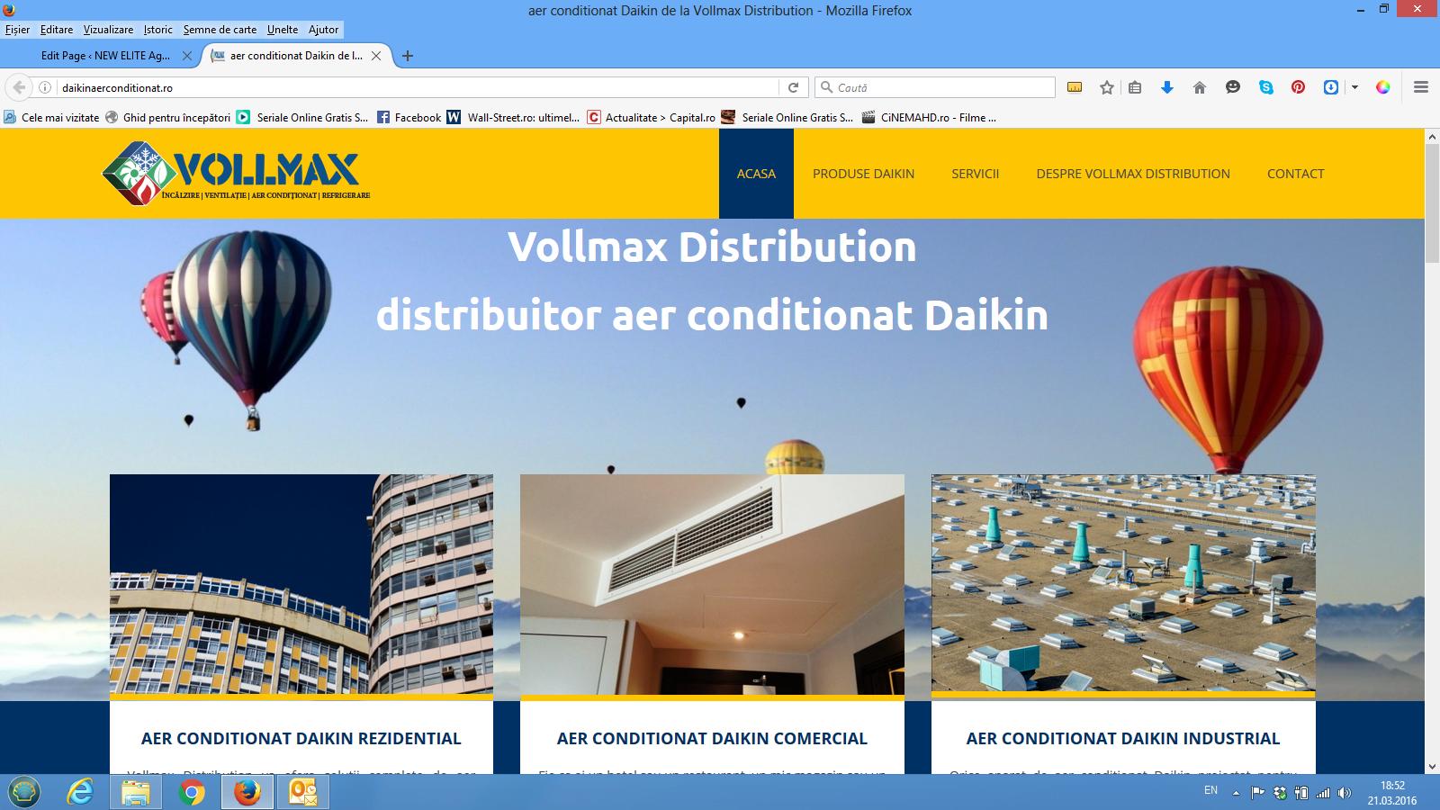 captura print screen Vollmax Distribution