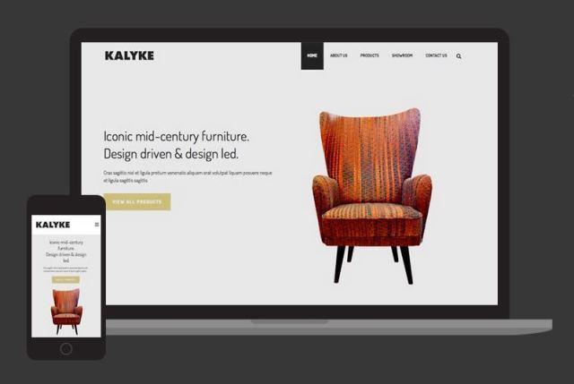 website-prezentare-mobilier