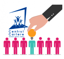 Centrul Cariere – strategie de brand, identitate vizuala.
