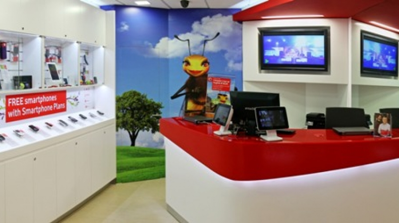 project 4 Vodafone retail