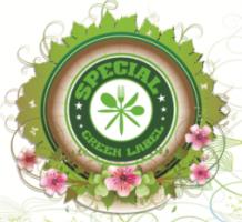 Special Green Label  – design de ambalaj pe plastic, design de etichete.
