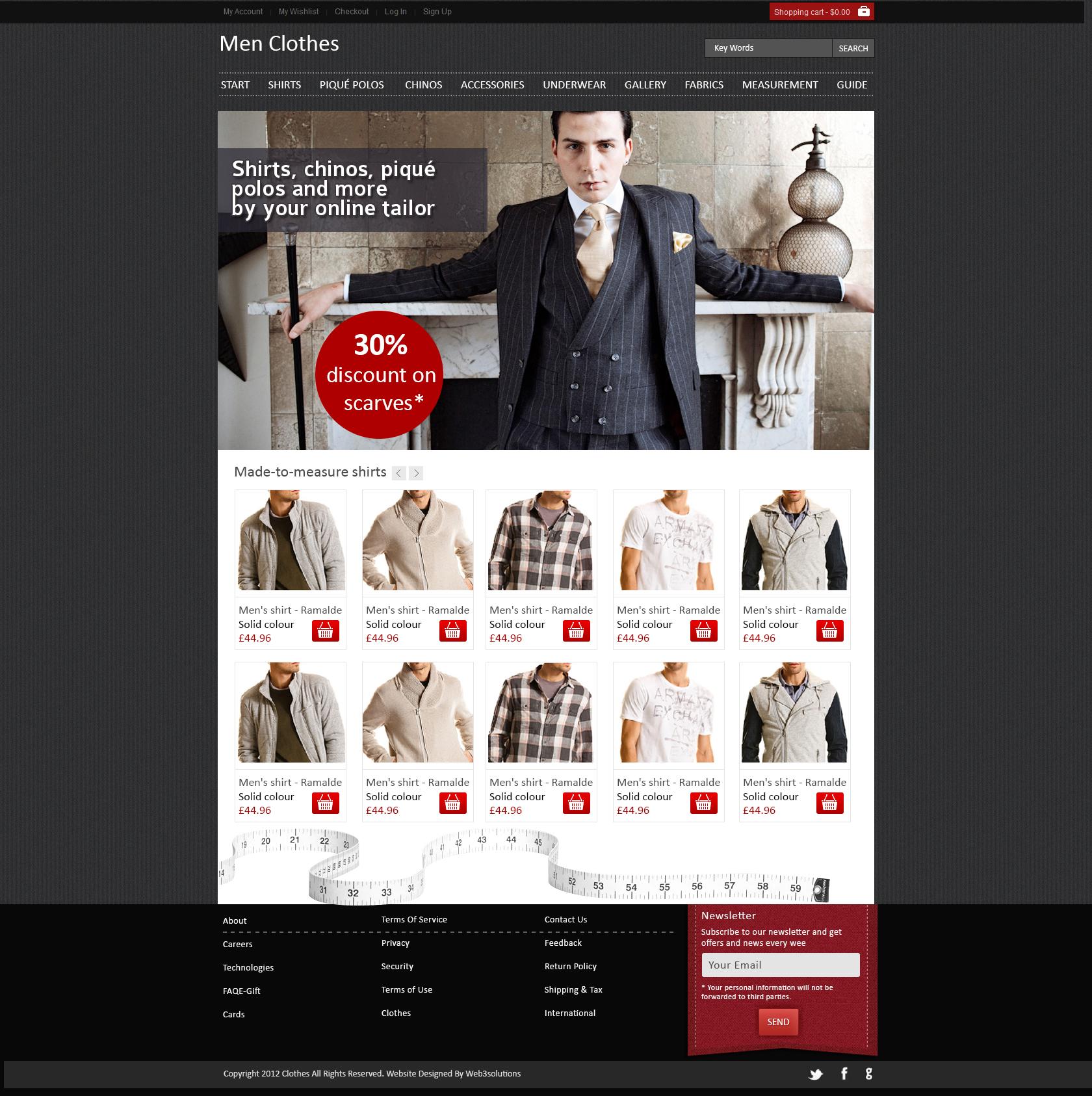 website 2 magazinul de costume