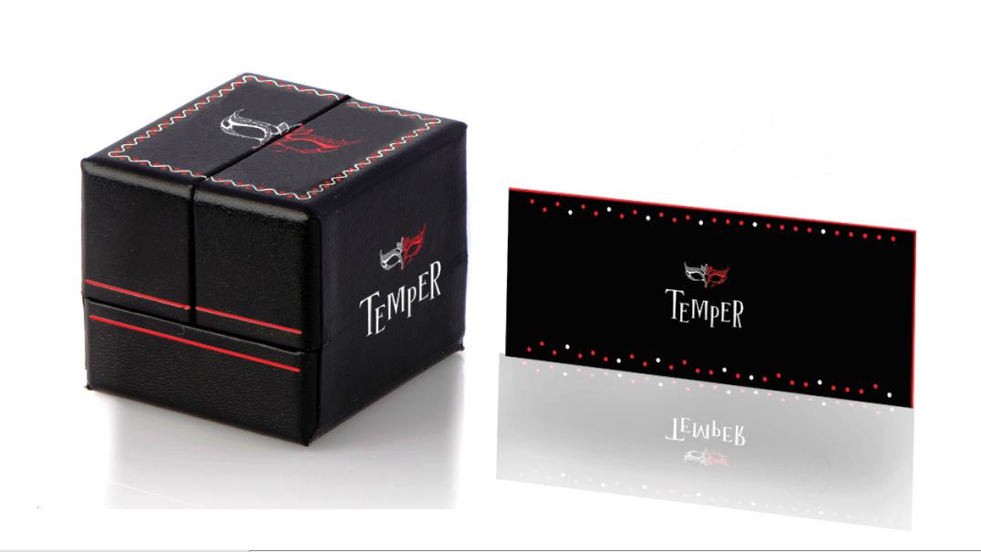 Temper design ambalaj cutie bijuterii